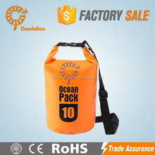 pvc tarpaulin waterproof outdoor backpack custom logo dry bag