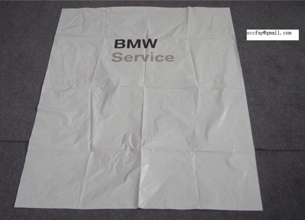 car care clean disposable plastic seat cover