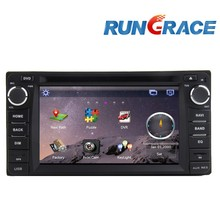 Wince 6.0 double din car radio for toyota land cruiser/prado car dvd player accessories