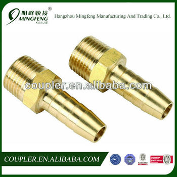 High pressure flexible high quality brass hose pipe fitting