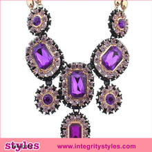 Charming Custom Fashion Dignity Colored Jewlery Necklace Wholesale