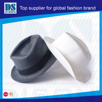 2014 Dison new fashion custom made paper vase hat