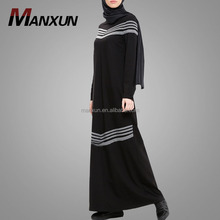 Black Muslim Abaya 2108 Maxi Dress Of Dubai Middle East Adult Age Group Maxi Dress Wholesale Online