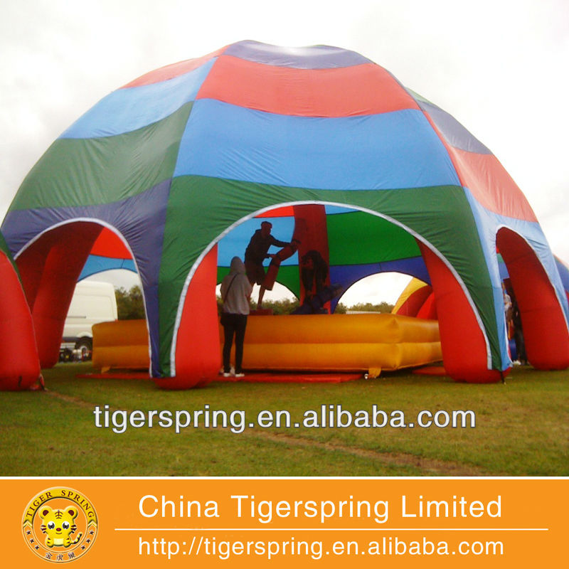 Popular outdoor dome tent inflatable