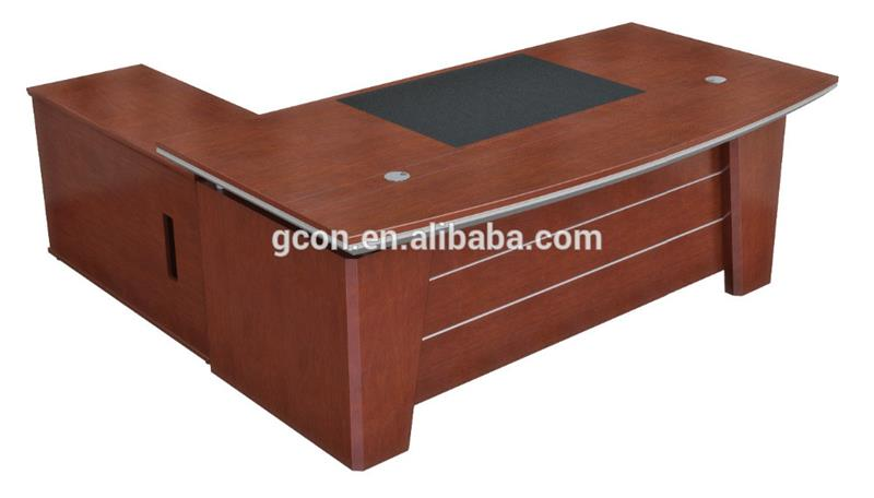 Boss Desk Suppliers Boss Office/ Executive Working Furniture Supply Desk With Side Table