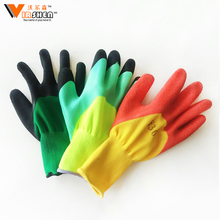Heavy Duty Chemical Resistant Latex Rubber Gloves