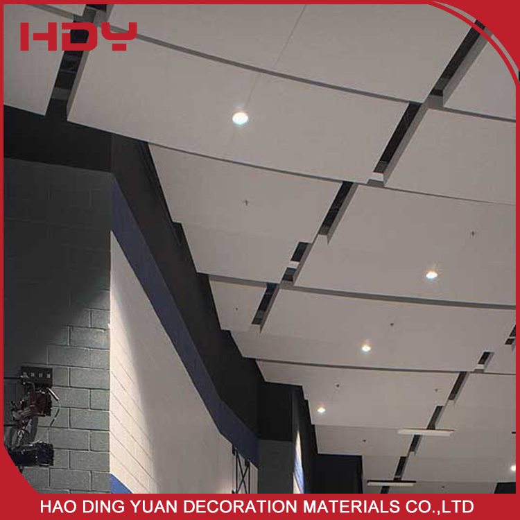 High Quality Customized Aluminum Pop Square Ceiling Design For Decoration