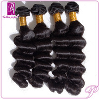 Long Lasting Water Wave Indian Gray Remy Hair Extensions