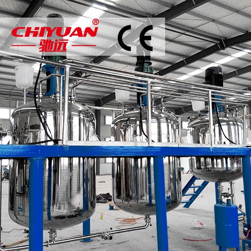 Complete paint production line for medicine, food, paint, ink, pesticides, resins, daily chemicals No. 03086