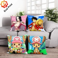 HOT SELL Custom Printed Pillow - Popular Japanese Series Anime One Piece