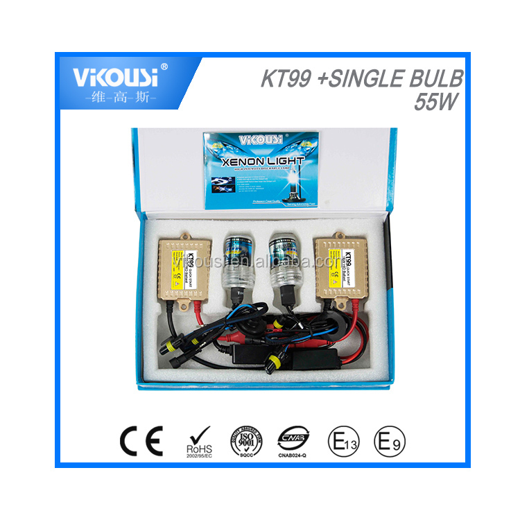 quick start 55w ballast hid xenon kits mid slim ballast with h4h-2 single lamp