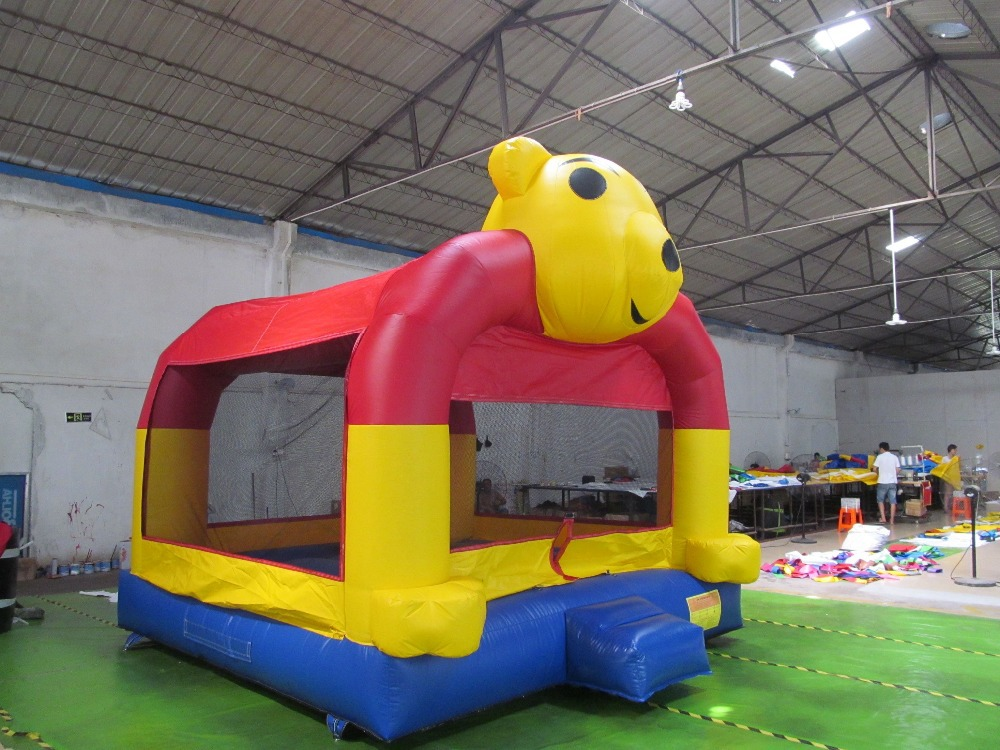 2015 inflatable cartoon jumping bouncer ,giant inflatable bouncy cartoon Z1254
