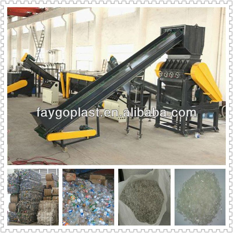 waste plastic washing recycling equipment