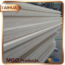 Fireproof 2 Hours Glass Magnesium Board For Fire Protection Of Steel Frame