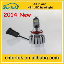 2014 New Products All-in-one CREE Car Led Headlight Bulbs H11 DC 12V-24V 30W Auto Parts for Honda Odyssey