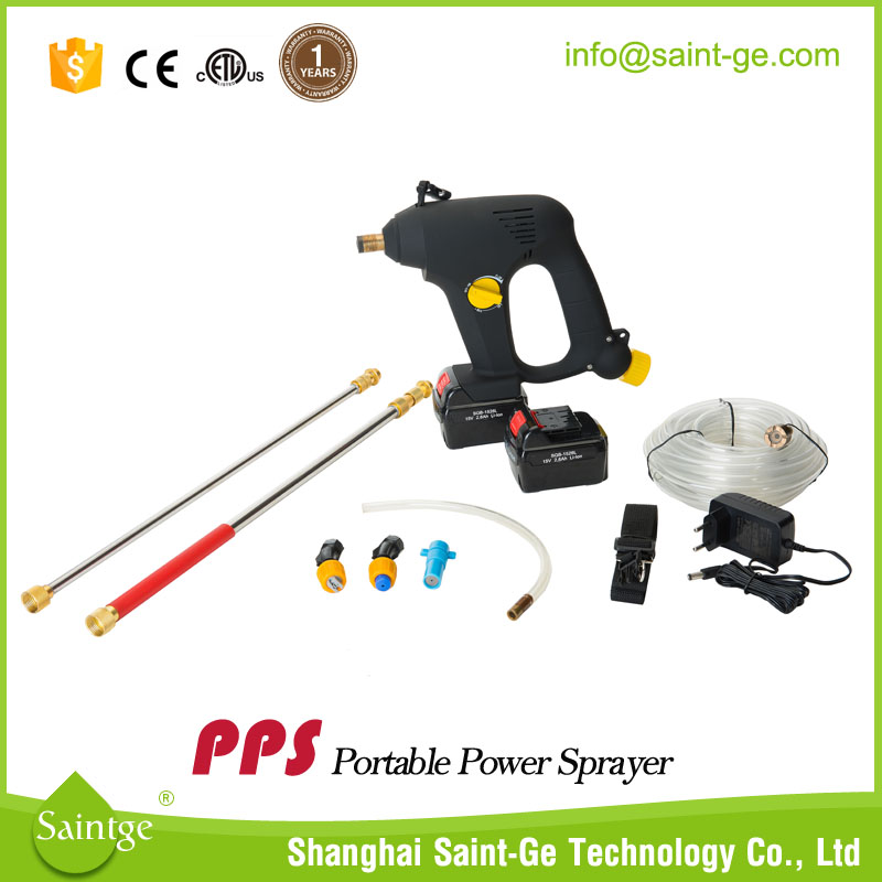 "15v electric self priming fruit tree sprayer with 120"" long lance"