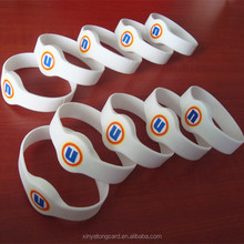 Waterproof NFC Smart Silicone RFID Wristband For Event