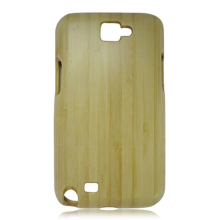 White bamboo phone shell two parts wooden case real wood phone case for SamSung N7100