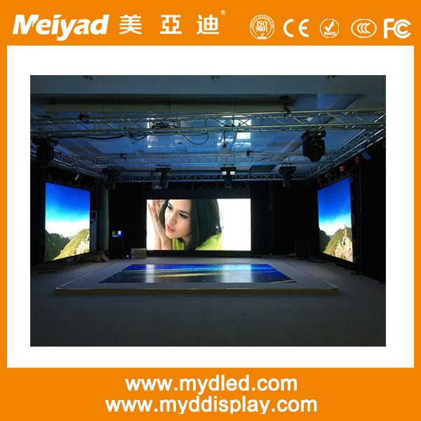 Indoor p3.91 hd ultra-thin led screen video/xxx/custom size led