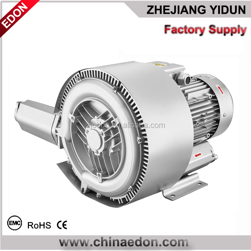 double stage hot high pressure electric air blower for fish pond
