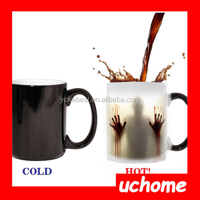 UCHOME The walking dead color changing mug terrorist funny cup