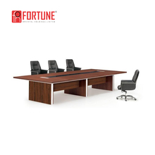 Modern Office Conference Boardroom Meeting Room Table and Leather Chairs Set (FOHSC-4805)