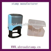self-inking rubber stamp