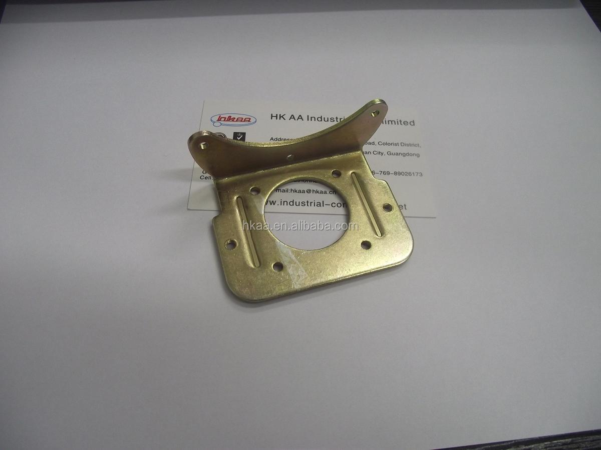 Custom Knurl Gold Plated Money Clip18k Clip