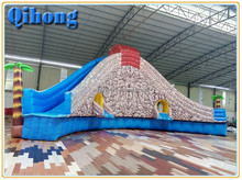 Chinese toys and games kids fiberglass water slides prices, inflatable commercial waterslide for adult