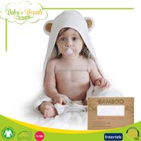 HT09 Oeko-tex Standard 100 Bamboo Hooded Baby Bath Towel