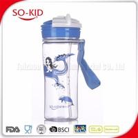 Bpa Free Tritan Sport Water Bottle With Straw