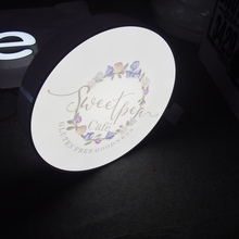Screen Printing Blister mould illuminated acrylic LED light box