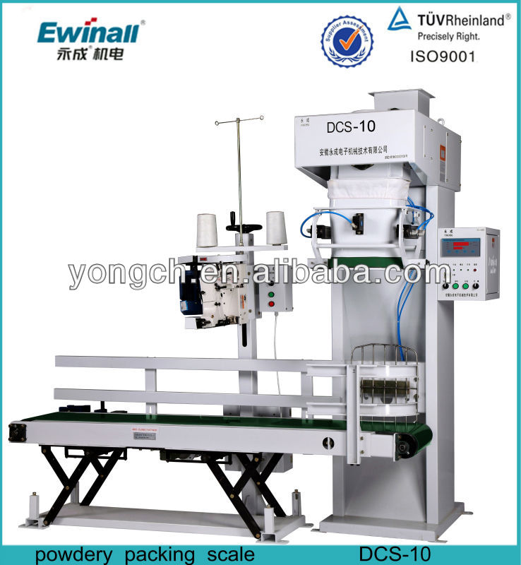 Semi auto flour package scales for sales (DCS-10)