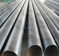 large diameter spiral welded steel pipe weight per meter