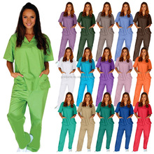 Medical scrub/scrub suit/nurse hospital uniform designs