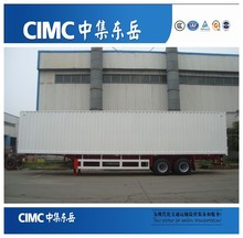 CIMC Van Coursed Wagon Truck Trailers Factory Price,Van Type Semi Trailer