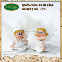 Decoration S/2 resin material gifts fairy figures for sale
