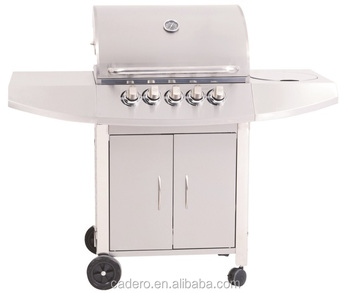 CBC-311CC Full stainless steel BBQ gas grill with side burner
