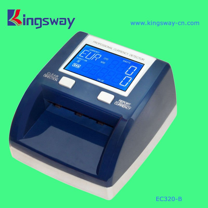 Multifunction Infrared Counterfeit Money Detector EC320