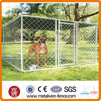 Used chain link portable large dog fence(factory)