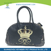 New luxury PU pet carrier dog bag wholesale in low price