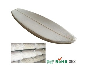 OEM Customize logo PU foam white surfboard PU blank whiteboard