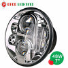 7 Inch 48w led headlight h4 h13 hi low beam for jeep wrangler toyota