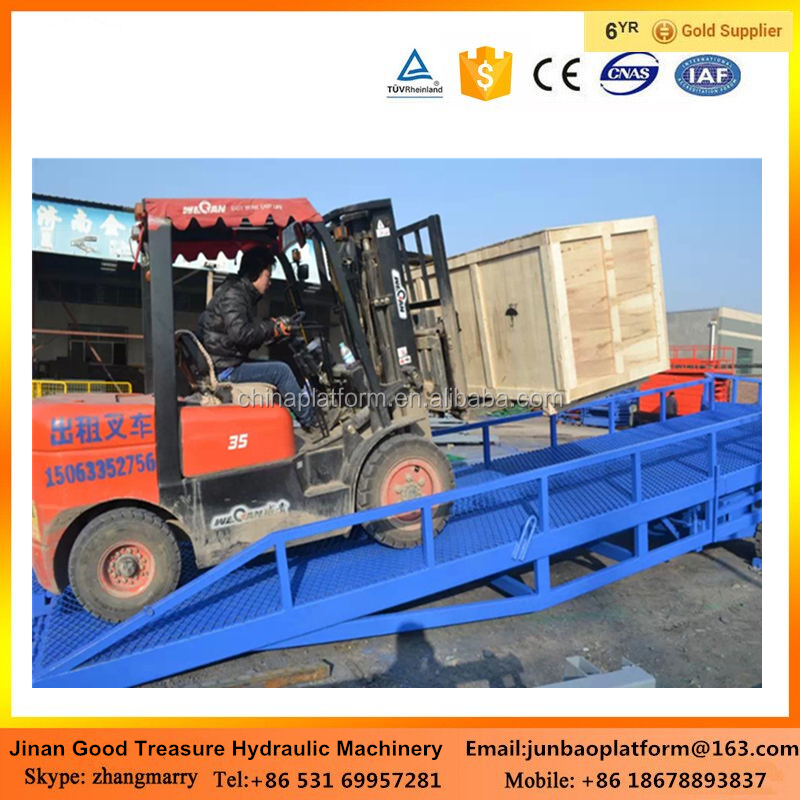 Portable Hydraulic Container Load Ramp/dock leveler