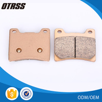 Strong wear resistance motorcycle parts copper brake pad for YAMAHA RZ 350