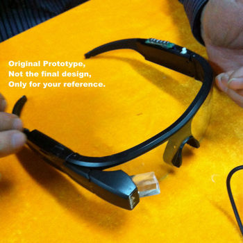 Wearable Computer Perspective Prism Google Android Wear Smart Glasses