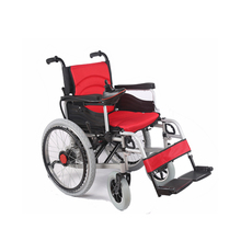China hot sale big wheels electric handcycle for wheelchair