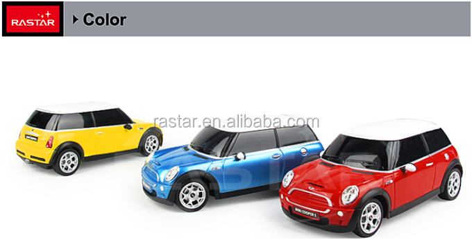 Rastar colorful MINI wholesale remote control car battery power toys from china