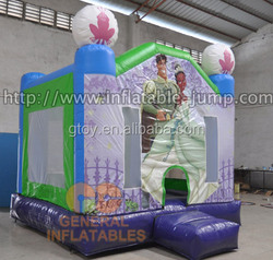Romatical No GB-282 inflatable bouncy Princess and frog bounce house