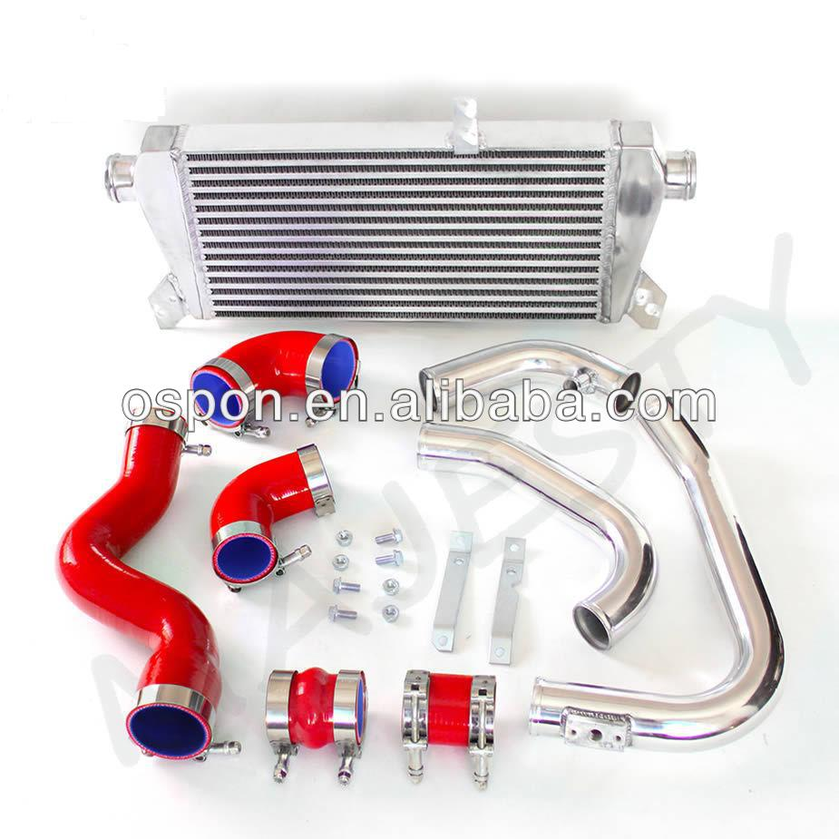 Intercooler pipe kits for Audi A4 B6 1.8T Quattro New red hose color